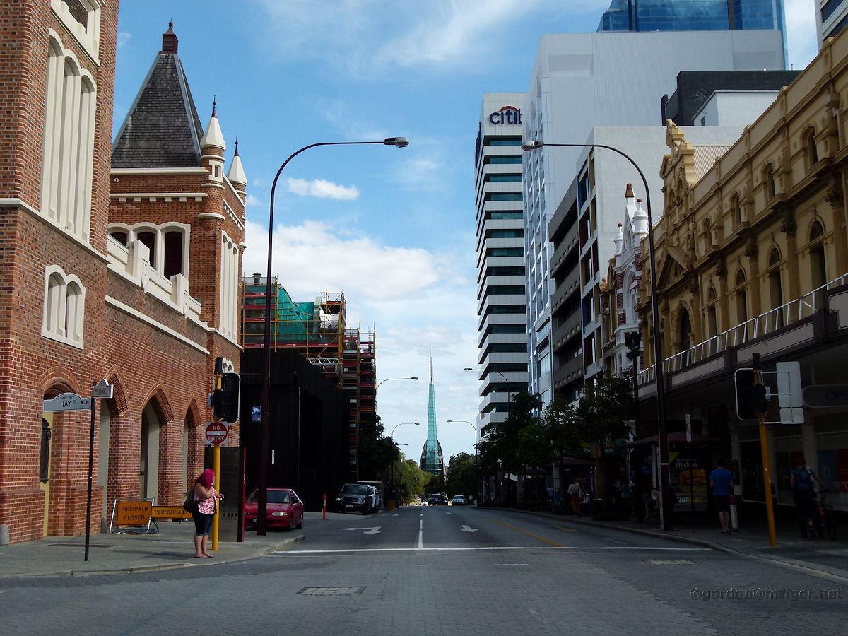 Perth City Hay Street Western Australia Perth Hay Street